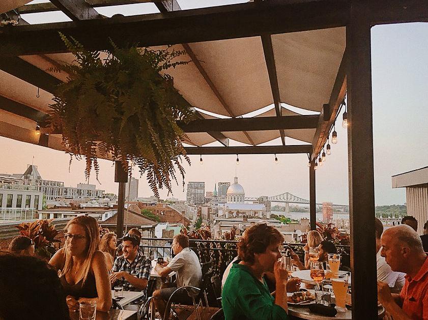 Rooftop La Terrasse sur l Auberge Montréal
